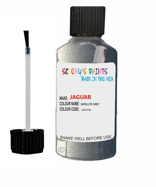 Jaguar Xfr Satellite Grey Code Lkg Touch Up Paint 2012-2016