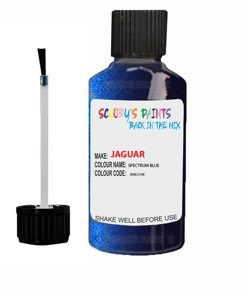 Jaguar Xfr Spectrum Blue Code Jkm Touch Up Paint 2010-2012