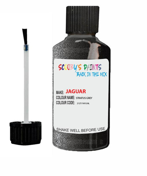 Jaguar F-Type Stratus Grey Code 2127 Touch Up Paint 2011-2016