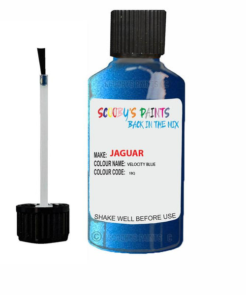 Jaguar F-Type Velocity Blue Code 1Bq Touch Up Paint 2020-2020