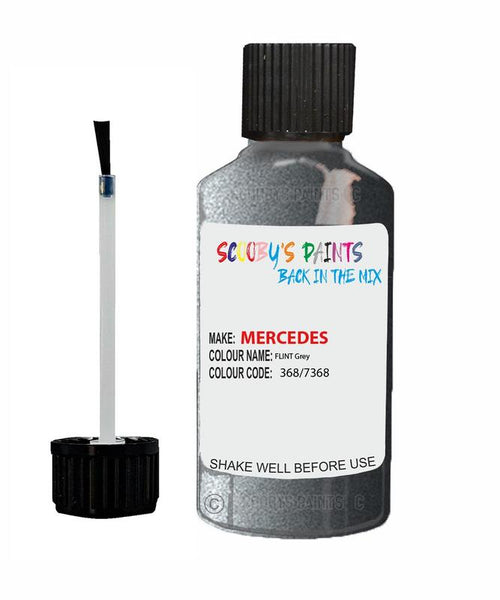 Mercedes Vito Flint Grey Code 368/7368/368/7368 Touch Up paint