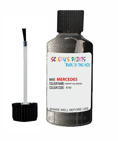 Mercedes S-Class Graphit Code 41041/ Touch Up paint