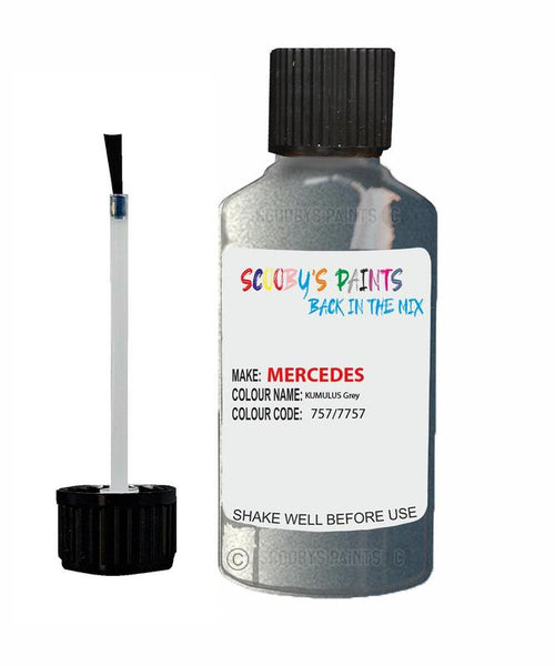 Mercedes A-Class Kumulus Grey Code 757/7757/757/7757 Touch Up Paint 2002-2004