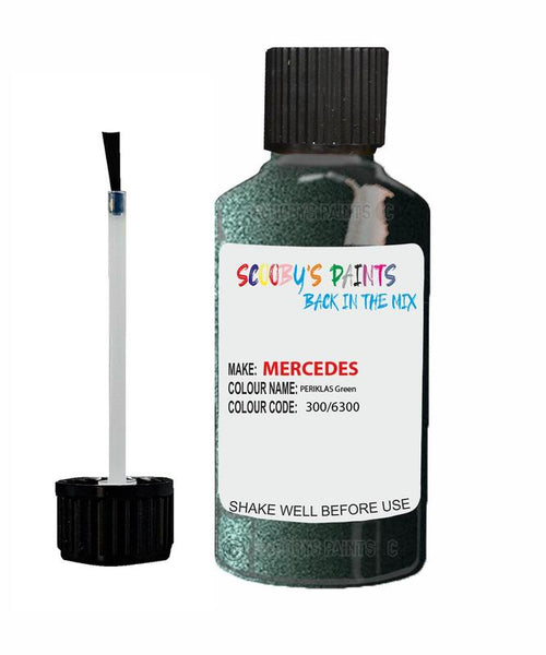Mercedes R-Class Periklas Green Code 300/6300/300/6300 Touch Up paint