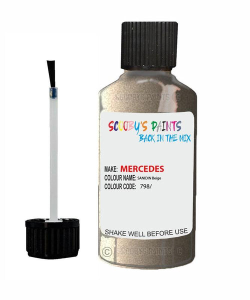 Mercedes R-Class Sanidin Beige Code 798798/ Touch Up paint