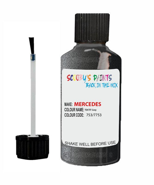 mercedes cl class tektit grey code 753 7753 753 7753 touch up paint 2000 2018 Scratch Stone Chip Repair