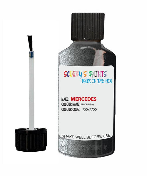 Mercedes Clc-Class Tenorit Grey Code 755/7755/755/7755 Touch Up paint