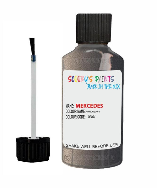 Mercedes S-Class Varicolor 4 Code 36036/ Touch Up paint