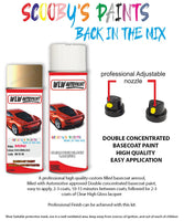 Mini Cooper Solid (Sienna) Gold Aerosol Spray Car Paint + Clear Lacquer 859