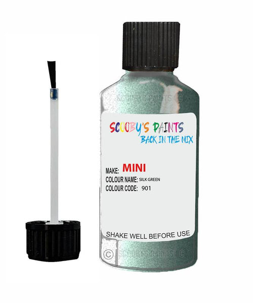 Mini One Silk Green Code 901 Touch Up paint