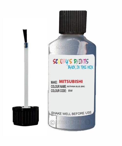 Mitsubishi Space Gear Bright Blue Code Bw Touch Up paint