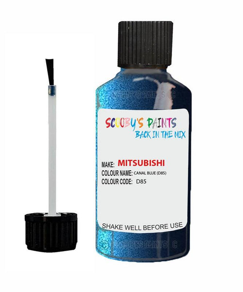 Mitsubishi Pajero Canal Blue Code D85 Touch Up paint