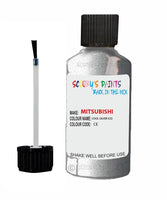Mitsubishi Pajero Cool Silver Code Ce Touch Up paint