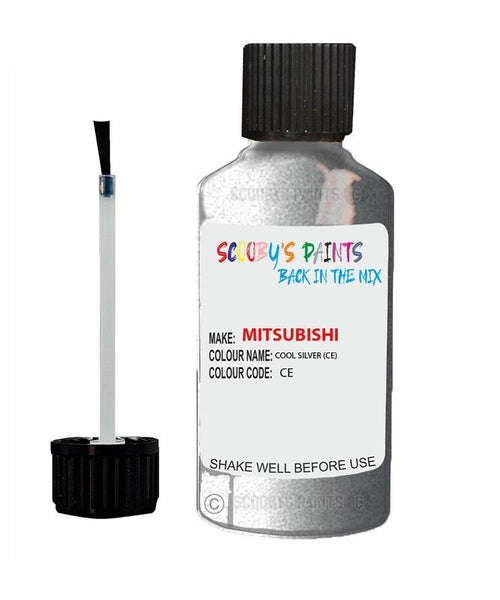 Mitsubishi Outlander Sport Cool Silver Code Ce Touch Up paint
