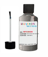 Mitsubishi Outlander Medium Argent Grey Code Cmh18015 Touch Up paint