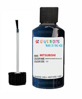 Mitsubishi Pajero Memphis/Grand Blue Code Cv Touch Up paint