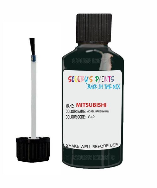 Mitsubishi L300 Mosel Green Code G49 Touch Up paint