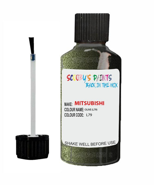 Mitsubishi Pajero Olive Code L79 Touch Up paint