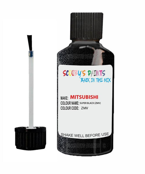 Mitsubishi Delica Super Black Code Zmv Touch Up paint