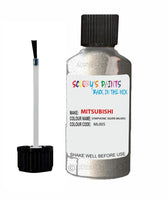 Mitsubishi Pajero Symphonic Silver Code Ml005 Touch Up paint