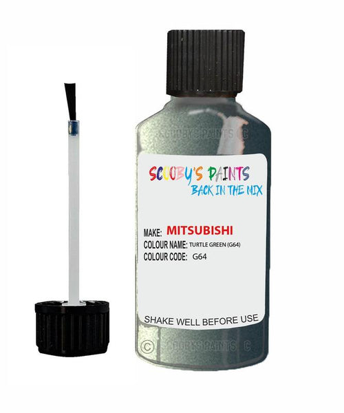 Mitsubishi Carisma Turtle Green Code G64 Touch Up paint
