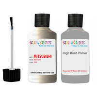 Mitsubishi Pajero Sport Beige Code S08 Touch Up Paint with anit rust primer undercoat