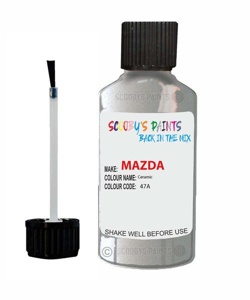 Mazda Mazda 2 Ceramic Code: 47A Car Touch Up Paint
