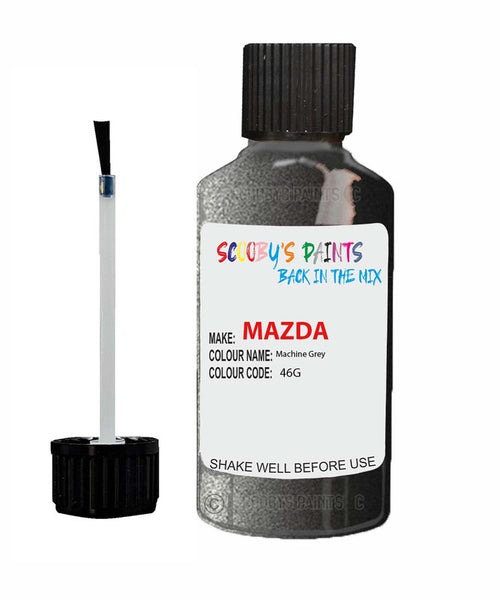 Mazda Mazda 3 Machine Grey Code: 46G Car Touch Up Paint