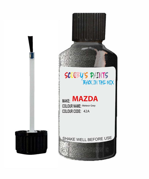 Mazda Cx9 Meteor Grey Code: 42A Car Touch Up Paint