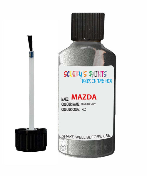 Mazda Mx6 Thunder Grey Code: 6Z Car Touch Up Paint