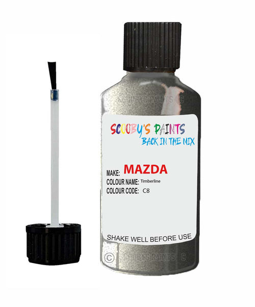Mazda Mx6 Timberline Code: C8 Car Touch Up Paint
