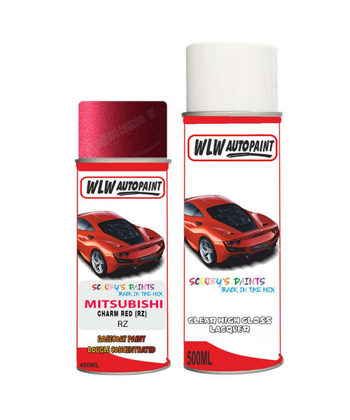 MITSUBISHI CANTER CHARM RED (RZ) Car Aerosol Spray Paint and Lacquer 2014-2016