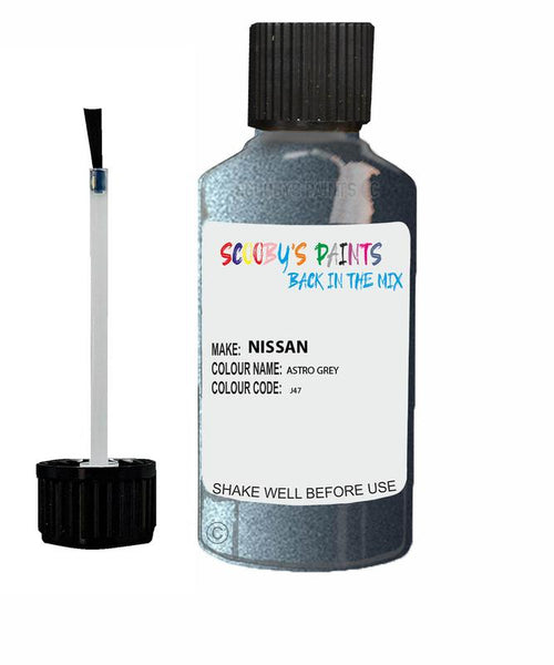 Nissan Nv400 Astro Grey Code J47 Touch Up paint