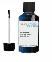 Nissan Navara Dark Blue Code Bw6 Touch Up paint