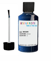Nissan Maxima Deep Blue Code Rab Touch Up paint