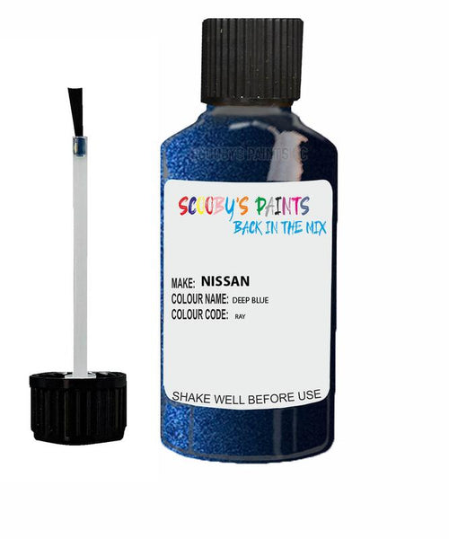 Nissan Gtr Deep Blue Code Ray Touch Up paint