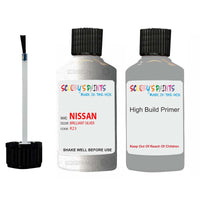 Nissan Navara Brilliant Silver Code K23 Touch Up Paint with anti rust primer undercoat