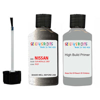 Nissan Maxima Gun Metallic Grey Code Kad Touch Up Paint with anti rust primer undercoat