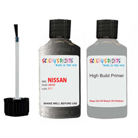 Nissan Maxima Smoke Code K11 Touch Up Paint Scratch Stone Chip Repair with anti rust primer undercoat