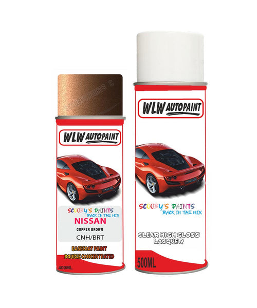 nissan nv300 copper brown aerosol spray car paint clear lacquer cnhBody repair basecoat dent colour
