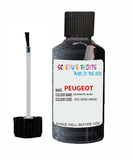 Peugeot Car Touch Up Paint Anthracite Silver