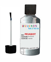 Peugeot Car Touch Up Paint Bleu Iseo Blue