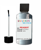 Peugeot Car Touch Up Paint Bleu Polaire Blue