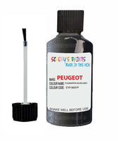 Peugeot Car Touch Up Paint Fulminator Silver Grey