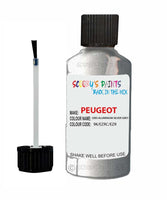Peugeot Car Touch Up Paint Gris Aluminium Silver Grey