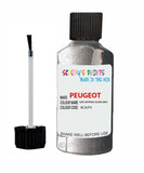 Peugeot Car Touch Up Paint Gris Artense Silver Grey