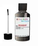 Peugeot Car Touch Up Paint Gris Crepuscule Silver Grey