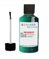 Peugeot Car Touch Up Paint Vert Ceylan Green