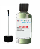 Peugeot Car Touch Up Paint Vert Ouranos Green