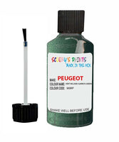 Peugeot Car Touch Up Paint Vert Roland Garros Green